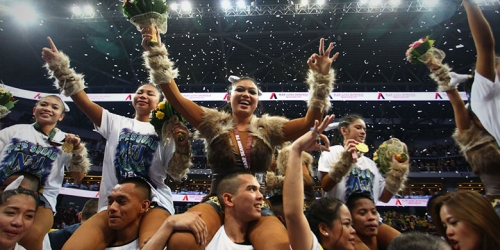 BARK-TO-BACK-TO-BACK: Cheerdance crown stays with NU