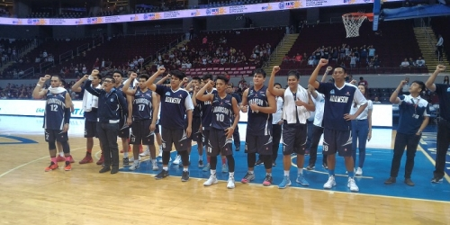LOOK! Adamson celebrates first win in UAAP 78