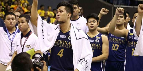 Gelo Alolino gets emotional in last moments as an NU Bulldog