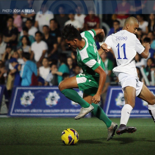 Double wins for DLSU football on opening day