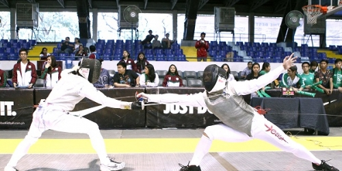 UE fencers on track for golden double in UAAP 78 fencing