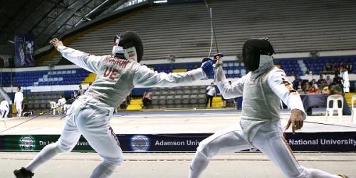 UE virtual champs in UAAP Season 78 fencing