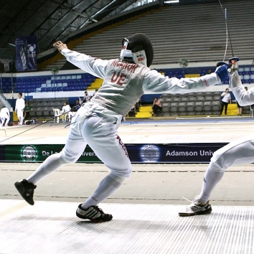 UE virtual champs in UAAP Season 78 fencing