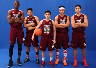 UAAP 78: UP Fighting Maroons pictorial