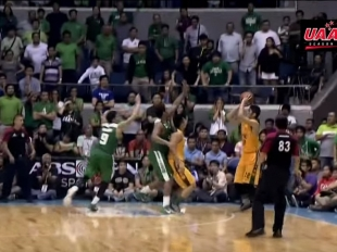 UAAP 77: Final Four FEU vs DLSU Game Highlights