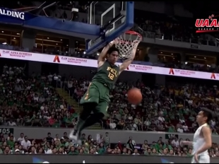UAAP 77: Belo steals and goes for a double-pump slam