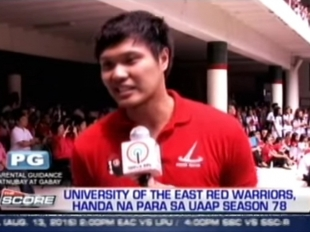 UE Red Warriors, all set for UAAP Season 78