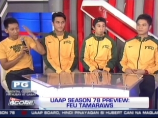 FEU Tamaraws show motivation for UAAP Season 78