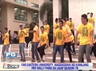 The Score: FEU holds pep rally for UAAP Season 78