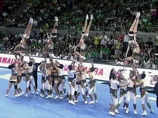 CHEER DANCE COMPETITION 2015: UST PEP SQUAD