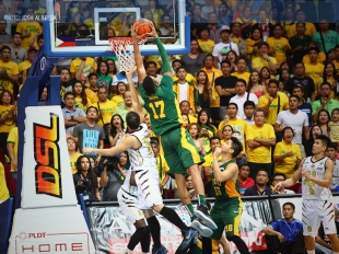 UAAP 78: Orizu with follow up dunk in the Finals!