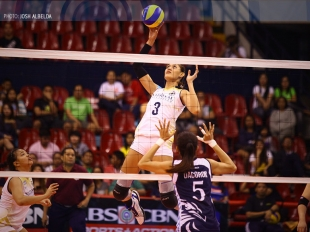 UAAP 78 WV: Jaja Santiago with a fake spike!