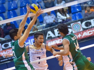 UAAP 78 MV: James Martin Natividad delivers a facial spike!