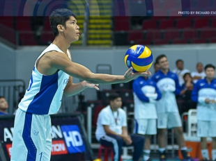 UAAP 78 MV: Marck Espejo with a clean service ace!