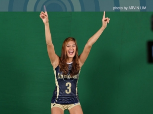 UAAP 78 WV: Jaja Santiago spikes through two defenders!